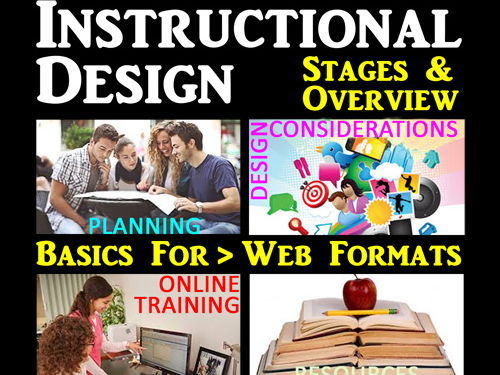 Instructional Design & Communication for Web & Curricula Planning & Development Presentation