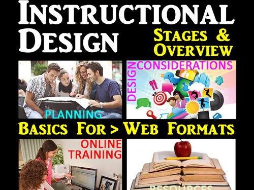 Instructional Design & Communication for Web & Curricula Planning & Development Presentation