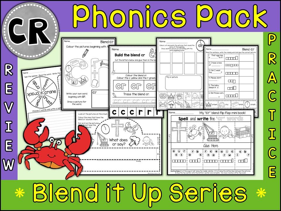 Phonics: Phonics Blend CR