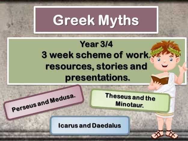 Greek Myths   Complete Scheme of Work. KS2