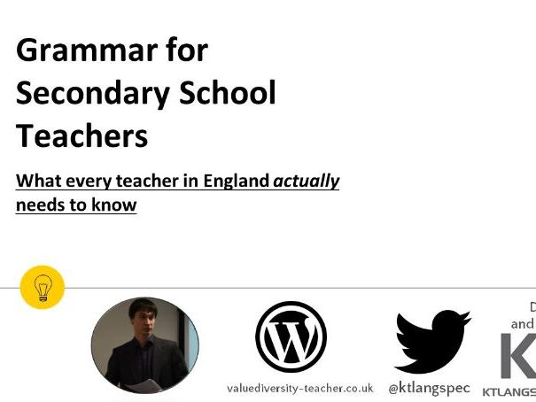 Grammar for Teachers Video Course