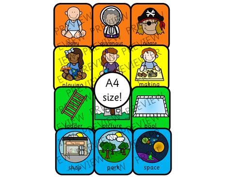 A4 Colourful Semantics