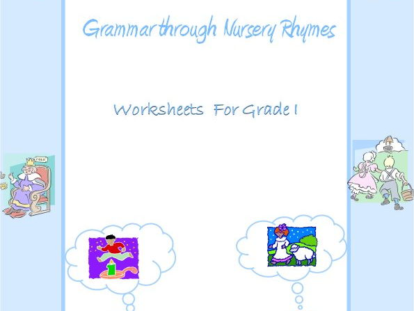 Grammar through Nursery Rhymes - noun, verb, adjective & preposition