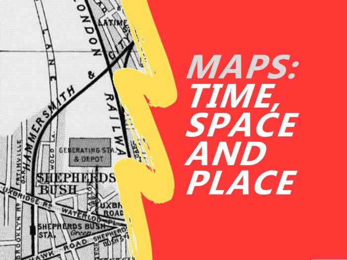 Showing Time, Space and Place on Maps