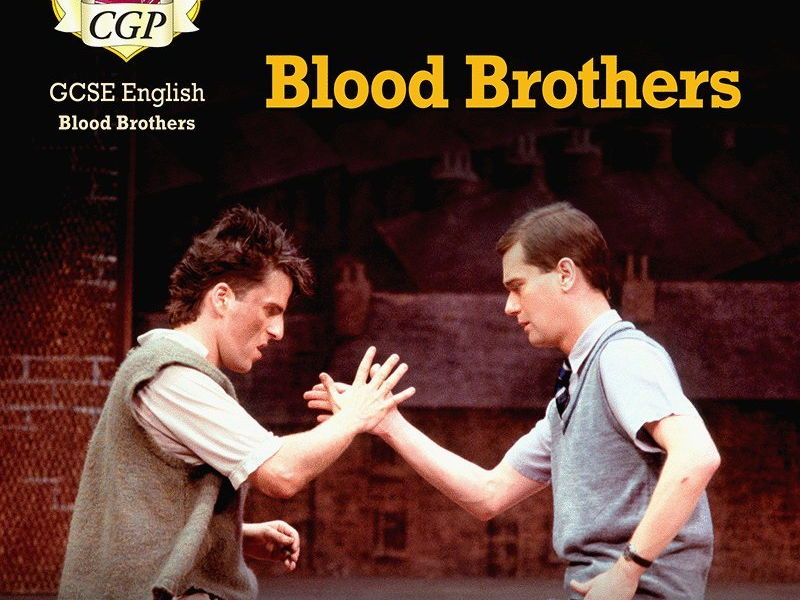 gcse blood brothers review coursework