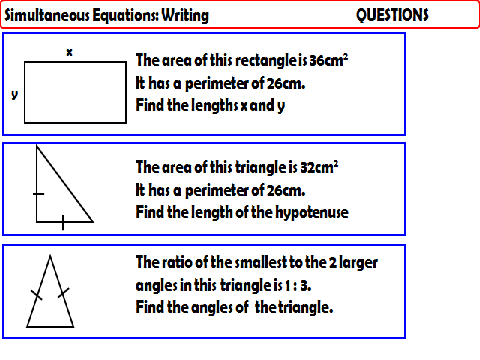 AQA GCSE Unit - Algebraic Problems