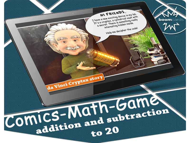 Cryptogram Puzzles | Cryptex Math Facts Boom Cards (addition and subtraction)