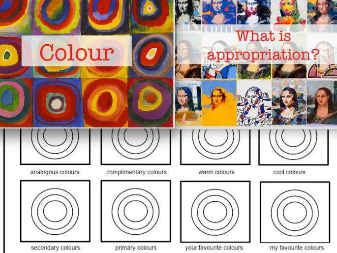 Whole Lesson | Understanding colour theories though the appropriation of Abstract Artist Kandinsky