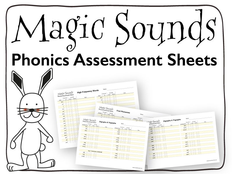 Phonics Assessment Sheet: Foundation Stage