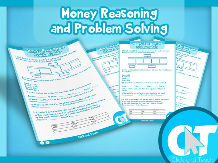 KS2 - Money Reasoning and Problem Solving