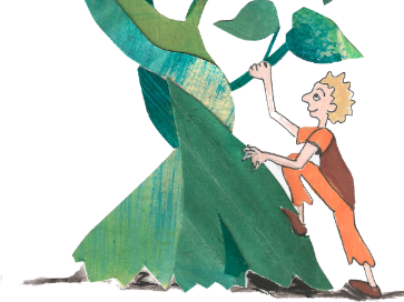 Jack and the Beanstalk Printable [English to French]