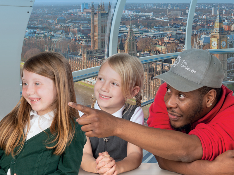 The London Skyline (Ages 7-13) - The  London Eye resource