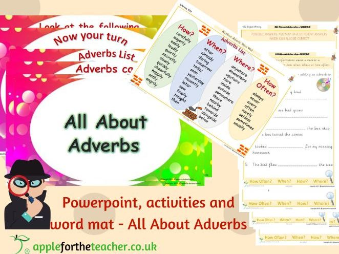 All About Adverbs KS2