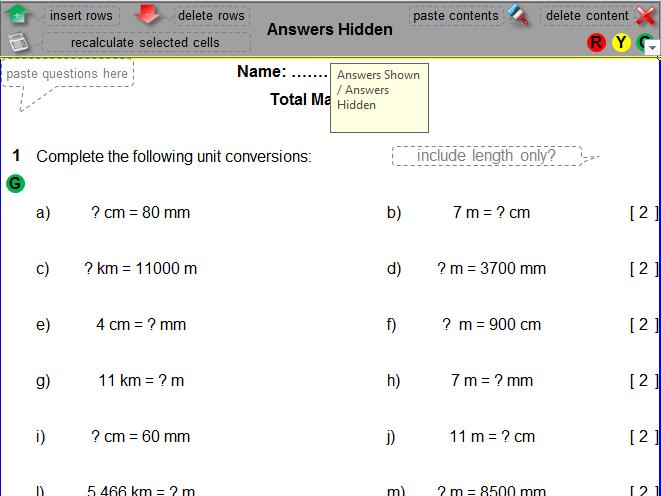 Metric Units Conversion Worksheet by rachfenwick Teaching – Metric Unit Conversion Worksheet