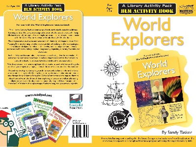 Library Activity Pack: World Explorers Activity Book