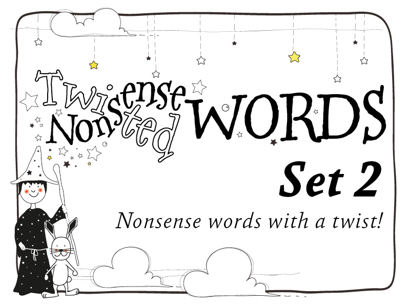 Twisted Nonsense Words: Set 2: Phonic Alien Word Challenges