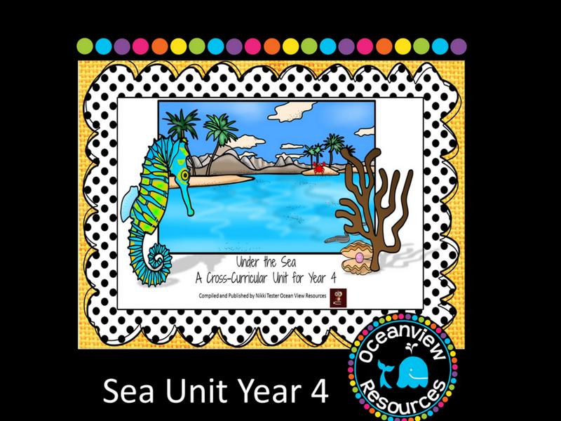 Year 4 Sea Themed Cross Curricular Unit