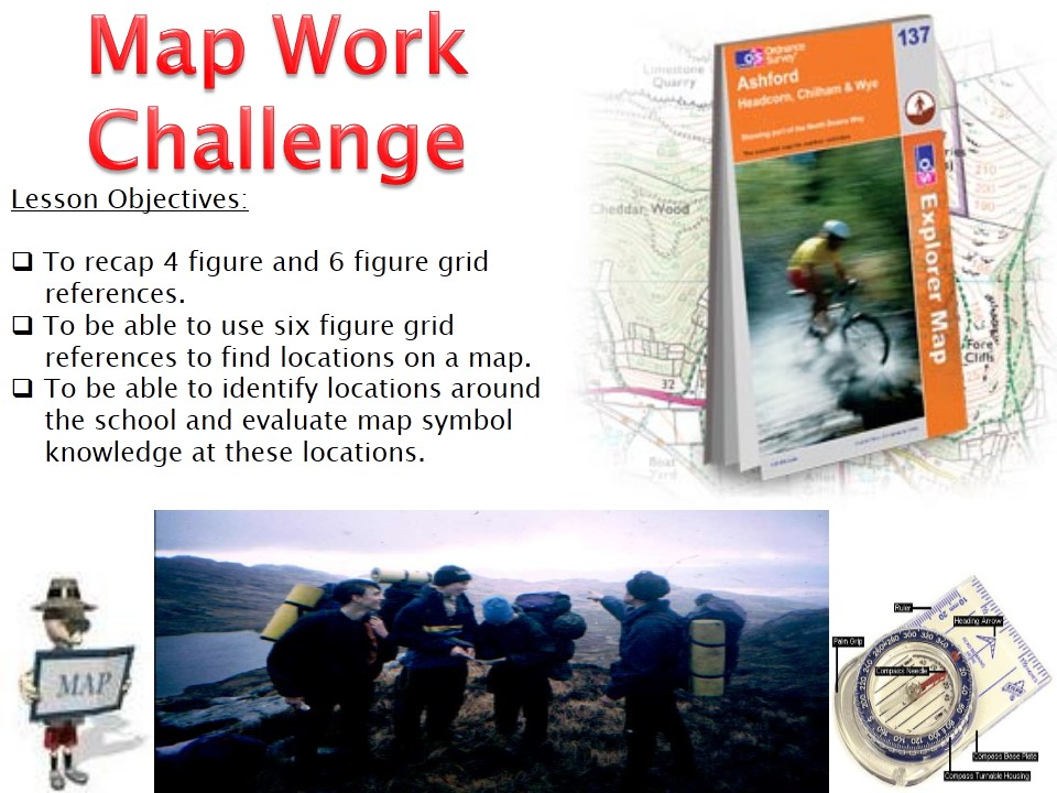 Year 7 KS3 Geography MAPPING AND MAPWORK 2016 8 MAP SYMBOLS OS