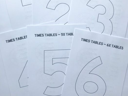 Times Tables Packs