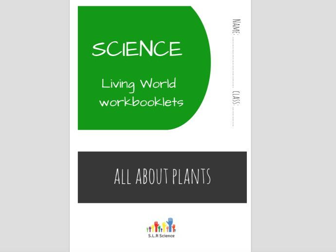 SPECIAL EDUCATION (SCIENCE) - PLANTS, PHOTOSYNTHESIS, GERMINATION workbooklet