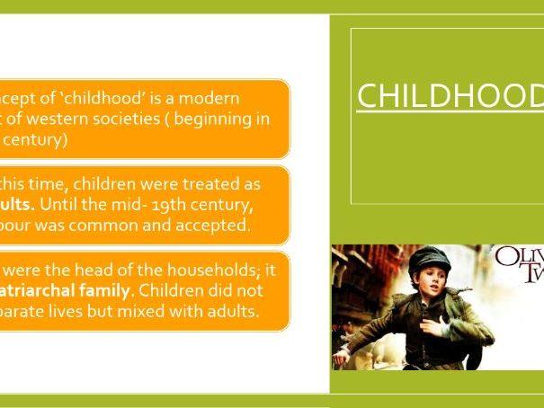 The relationship between children and parents