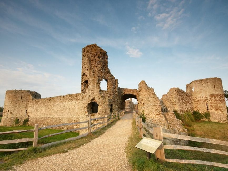 *Updated* The Historic Environment - Pevensey Castle