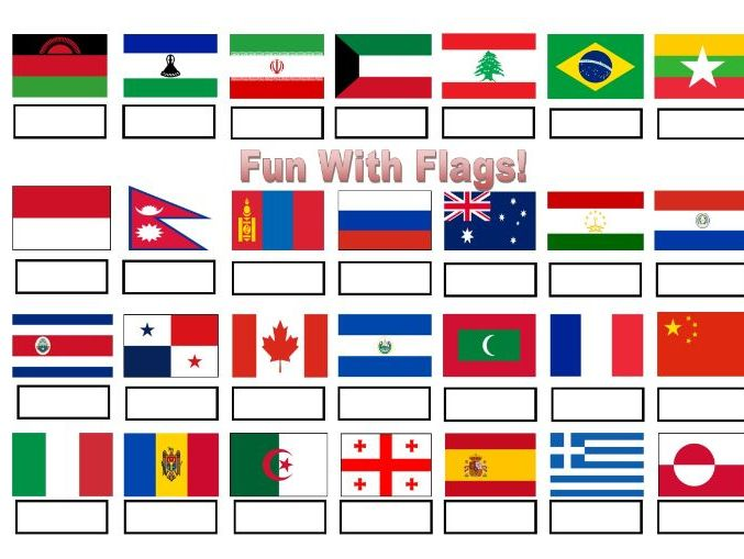 Fun with Flags - Quiz