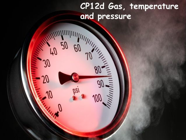 CP12d Gas temperature and pressure