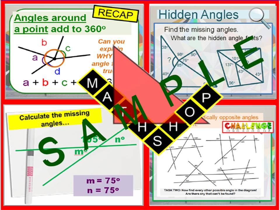 Angles 4 Lessons (Bundle)