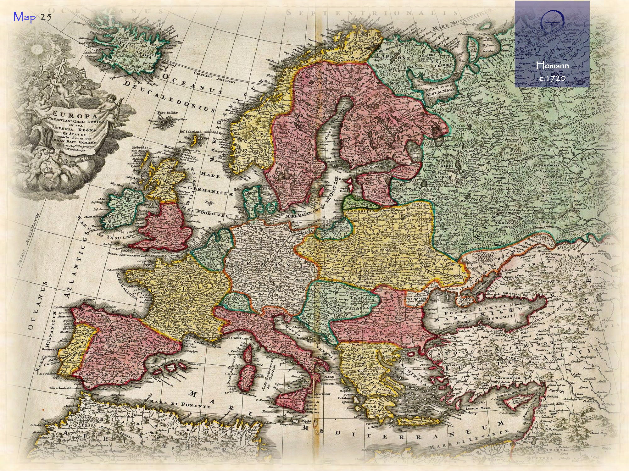 Historical e-atlases 3 largest EU countries