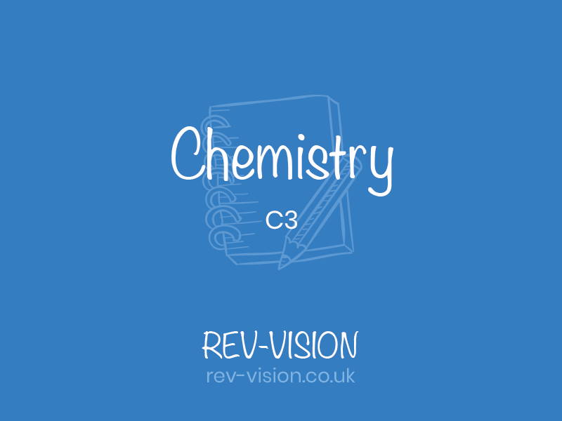 GCSE C3 Chemistry- Chemical Reactions Revision Hand made notes