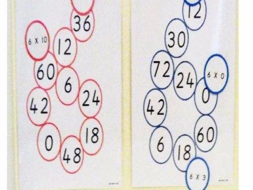 6 Times Matching Game