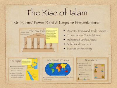 The Rise of Islam PowerPoint and Keynote Presentations