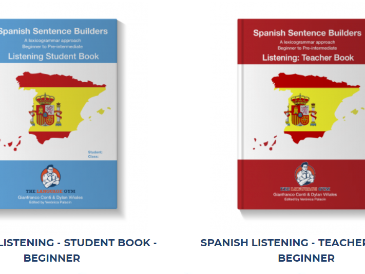 Unit 1 of Beginner Spanish Listening book by Conti & Vinales