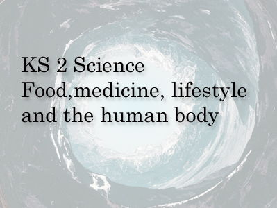 KS 2 science  Food, medicine, Lifestyle & the human body