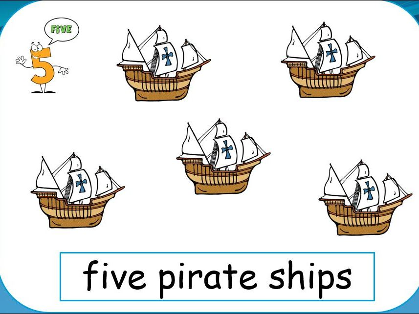 Pirate Counting PPT