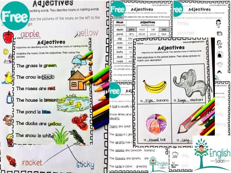 Adjectives or Describing words