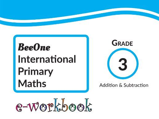 Grade 3 Addition & Subtraction of 71 worksheets from BeeOne Books