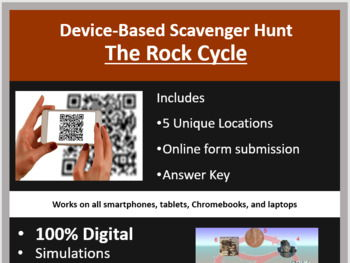 The Rock Cycle – A Digital Scavenger Hunt Activity