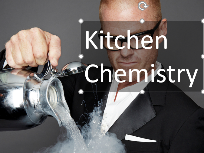 Making sherbet, kitchen chemistry - fun activity with scientific explanation for reaction