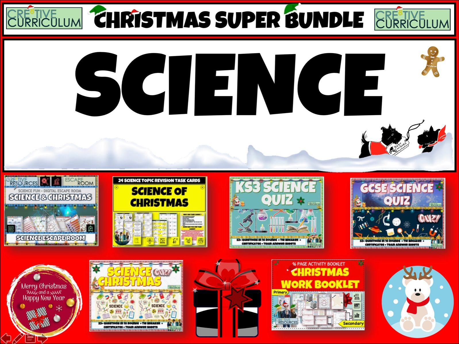 Science Christmas Super Bundle