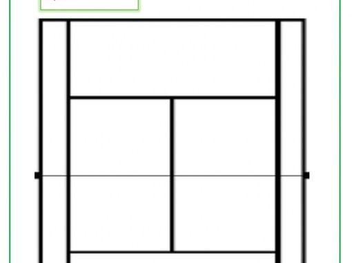Badminton- Positioning tally sheet