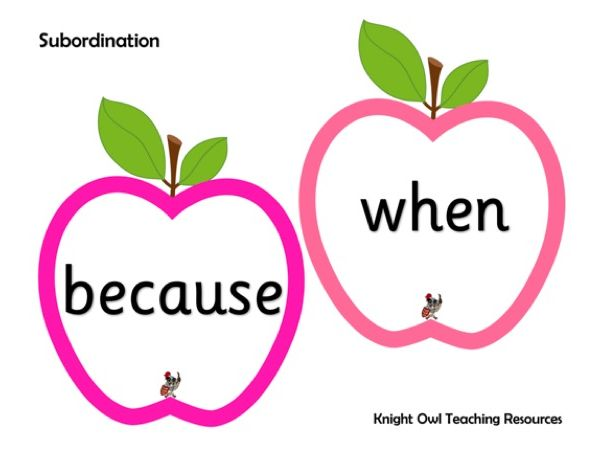 Subordination and Coordination Apples