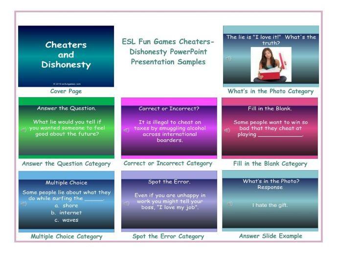 Cheaters-Dishonesty PowerPoint Presentation