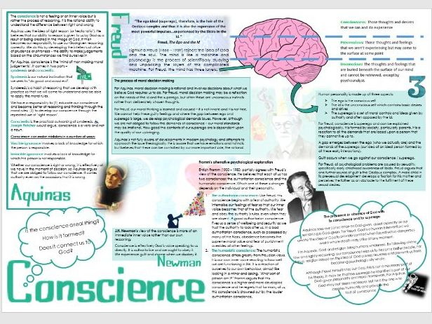 OCR Religion and Ethics: Conscience Learning Mat
