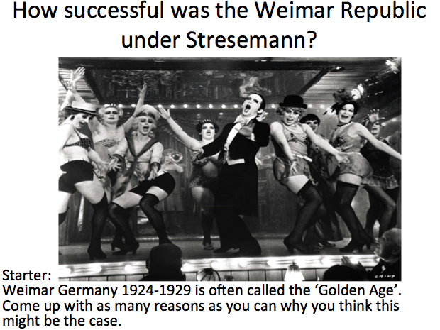an analysis of the three main problems of the weimar republic Main economic problems faced by the weimar republic 1918 - 1923 bankruptcy germany's biggest problem all reserves of gold were used in war treaty of versailles made things worse: reparations, deprivation of areas such as coalfields.