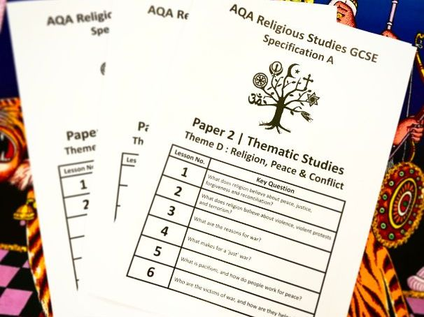Revision Guide : AQA GCSE Religious Studies Theme D Religion, Poverty & Wealth