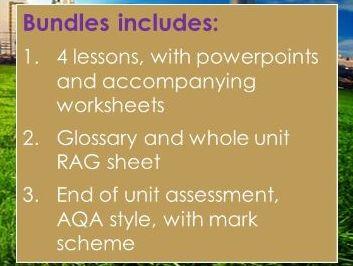 AQA GCSE Geography: Climate Change Unit