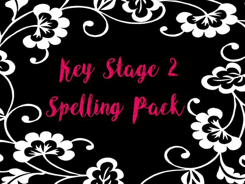 Complete KS2 Spelling Pack