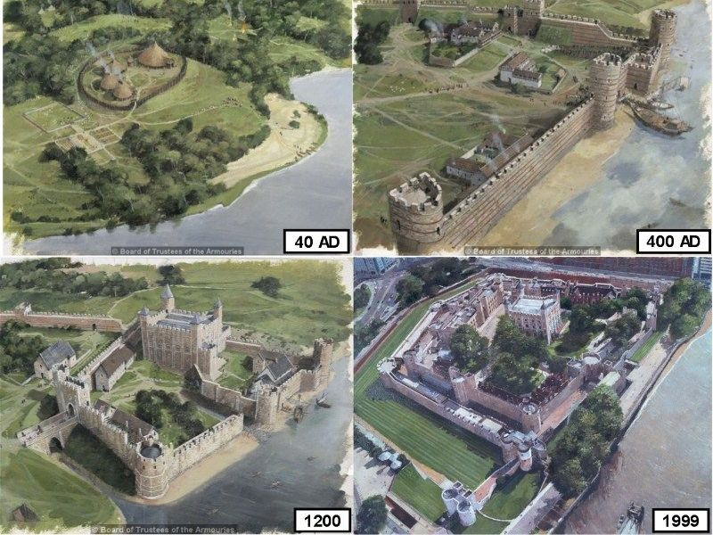 Tower of London - Changes and Continuities of the Tower of London through Time